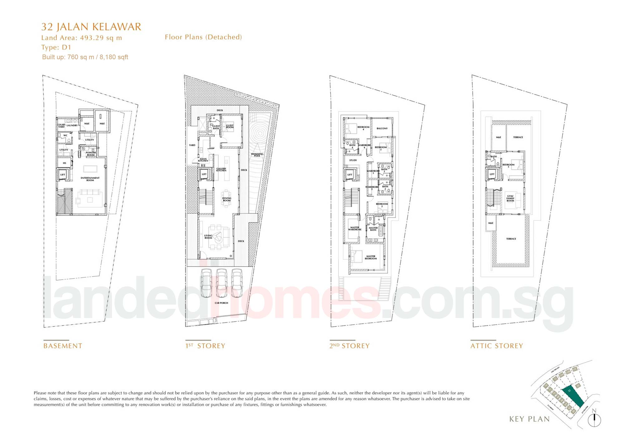 House 32 One Tree Hill Collection floor plan