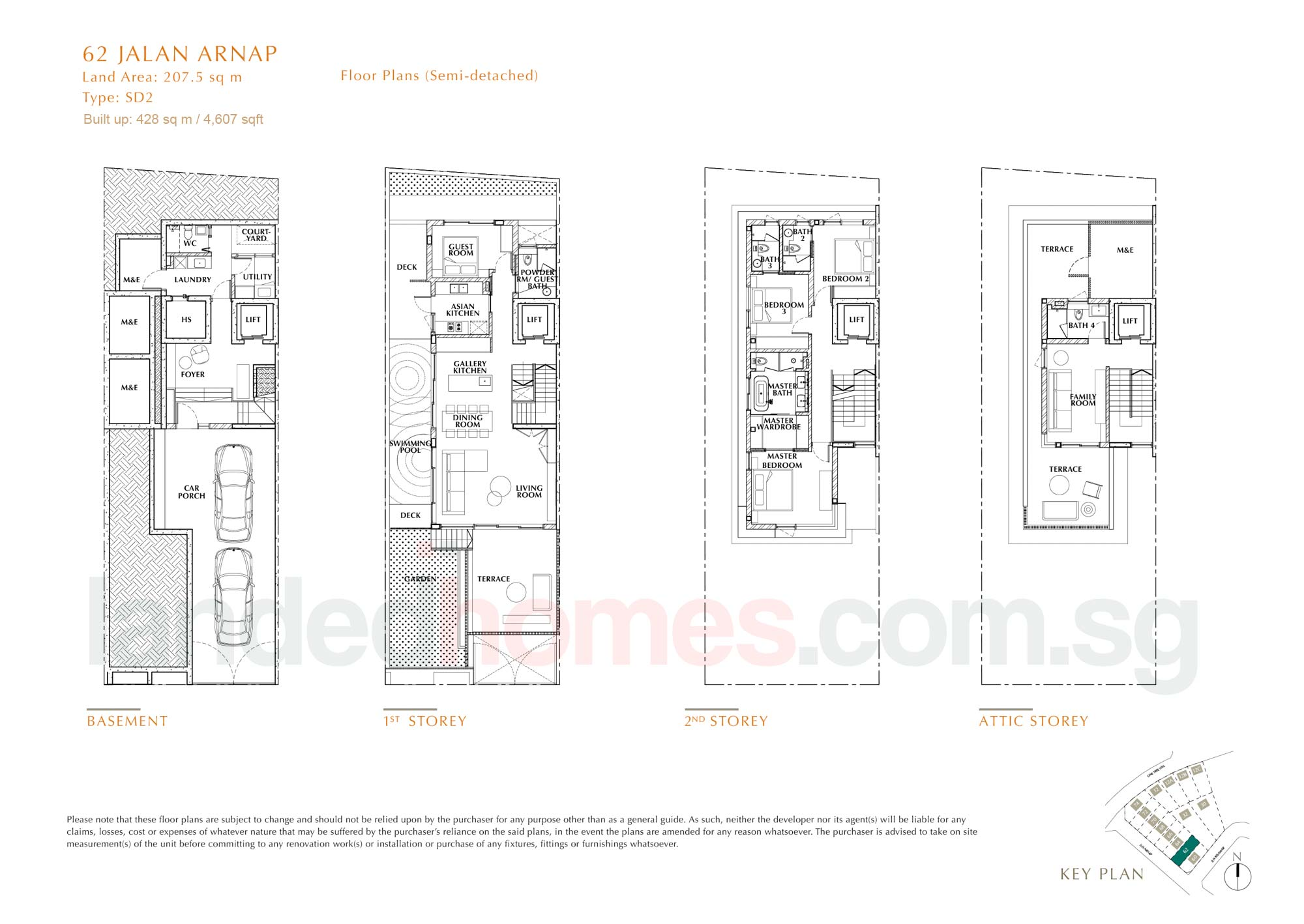House 62 One Tree Hill Collection floor plan