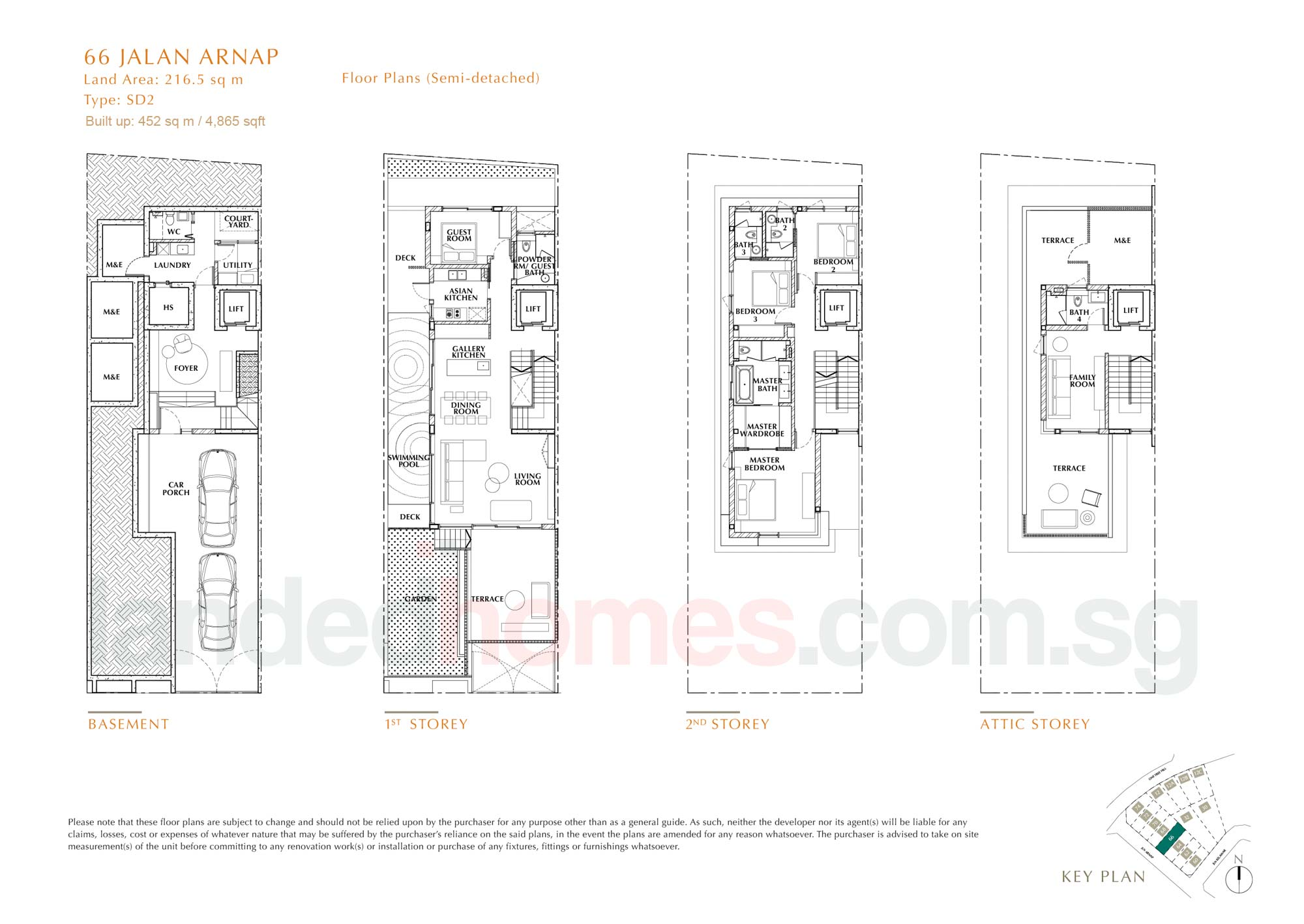 House 66 One Tree Hill Collection floor plan