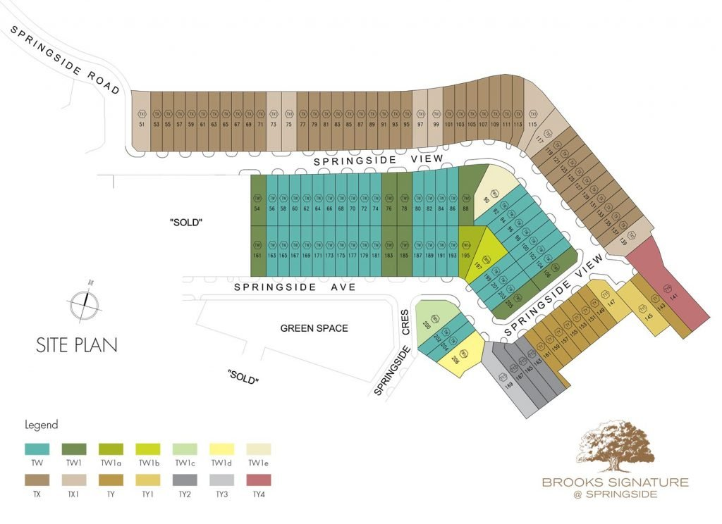 Brooks site plan color