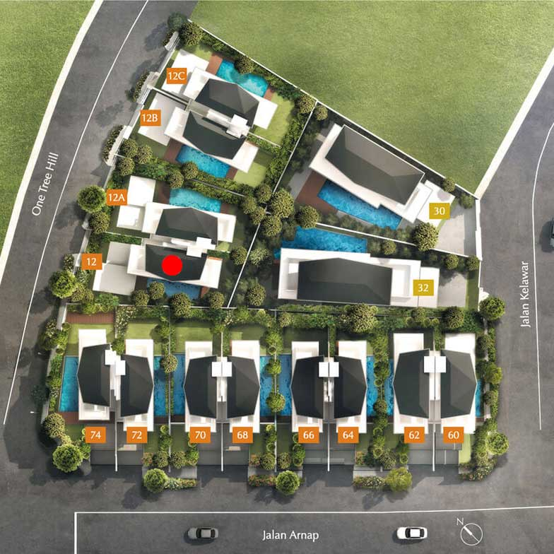 site plan for house 12 one tree hill collection