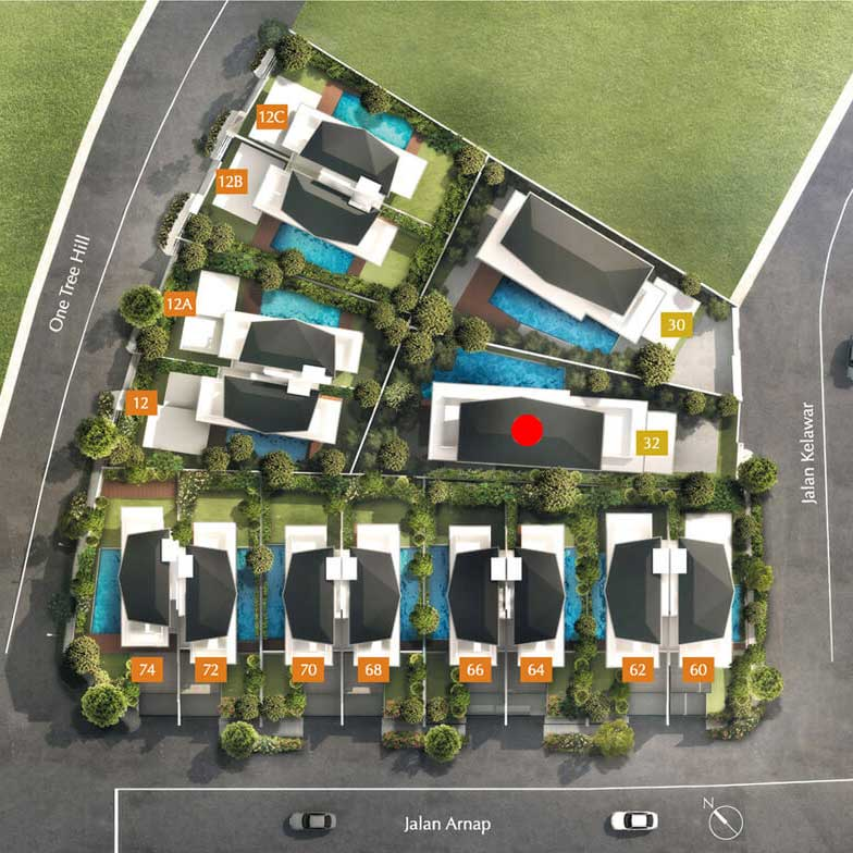 site plan for house 32 one tree hill collection