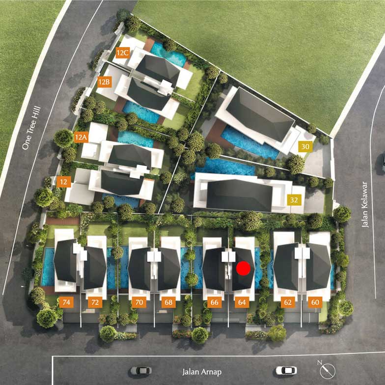 site plan for house 64 one tree hill collection