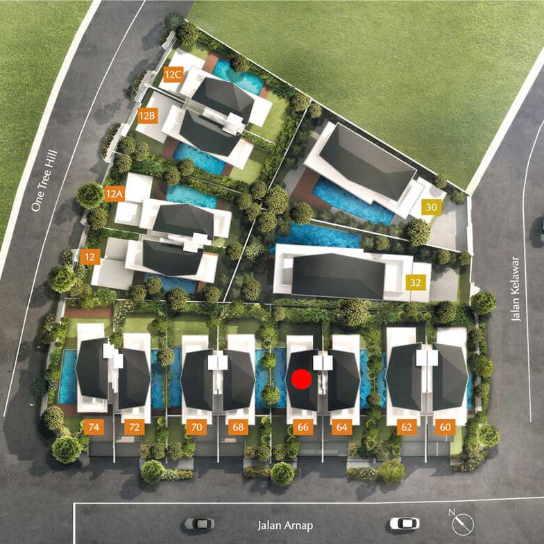 site plan for house 66 one tree hill collection