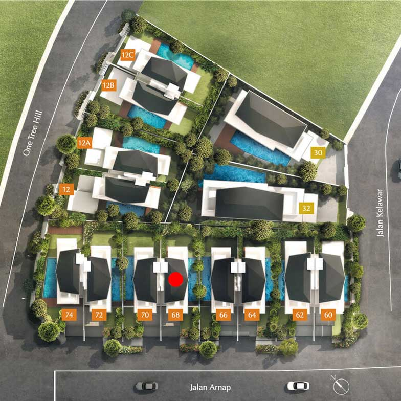site plan for house 68 one tree hill collection